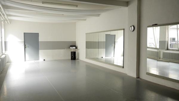 Tanzwerkstatt Nürnberg - Ingo Schweiger, Proberaum