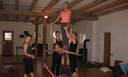 AcroYoga Retreat gegen Winterblues, November 2016